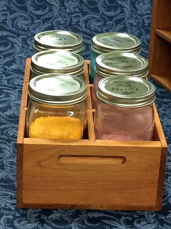 Canning Jars Storage Wood Crate Jar Mason Shadow Box Shelves Canning Jar Storage Shadow Box Shelves Wood Crates