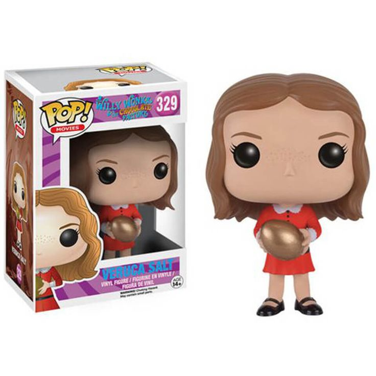 Buy Willy Wonka and the Chocolate Factory Veruca Salt Pop! Vinyl Figure from Pop In A Box Canada, the home of Funko Pop Vinyl collectibles figures and other Funko goodies!