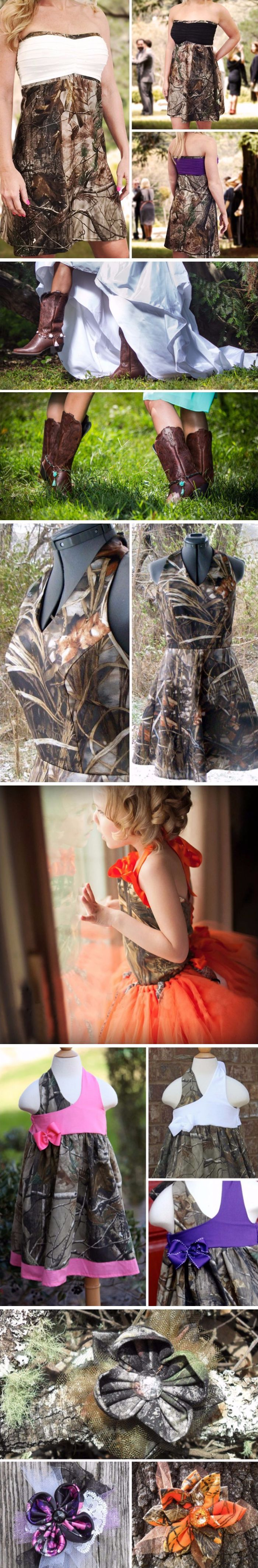 Camo Tips for Bridesmaids and Flowergirls