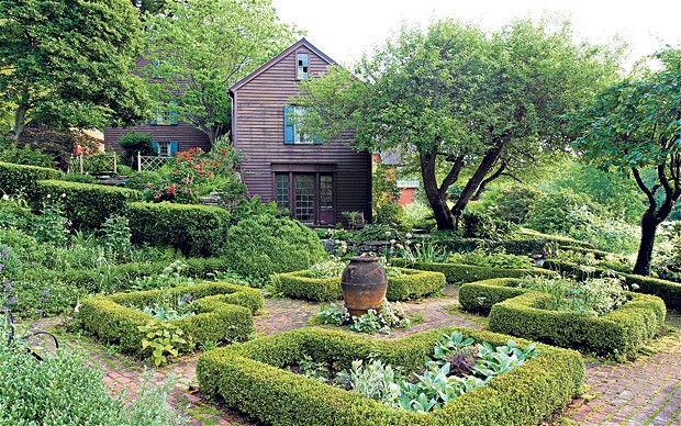 Hollister House -  inspired by Sissinghurst Castle gardens
