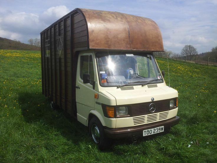 Wooden Oakley Horsebox For Sale