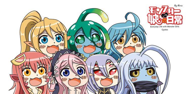 Monster Musume Gyate Squad by Kirbmaster.deviantart.com on @DeviantArt