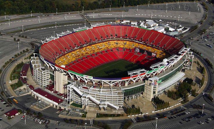 Image: Fedex Field Redskins Stadium Painting  - Fedex Field Redskins Stadium Fine Art Print