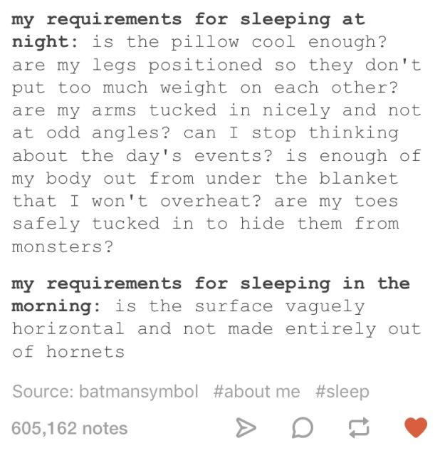 Dieser Unterschied zwischen Tag und Nacht: