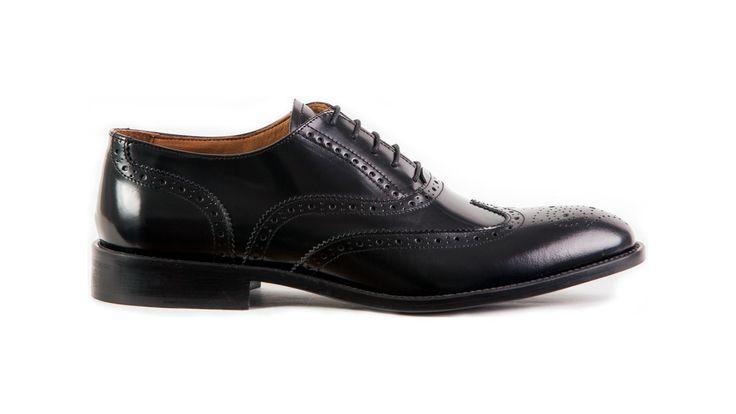 brogue oxford classy italian shoe