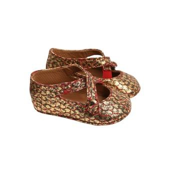 gilded: Little Girls, Fashion Shoes, Prints Baby, Baby Bootie, Animal Prints, Aunt, Kids Clothing, Baby Shoes, Malol Petite