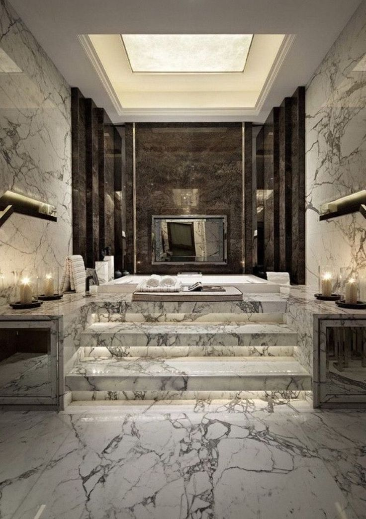 Luxury bathrooms are every virtually style without…