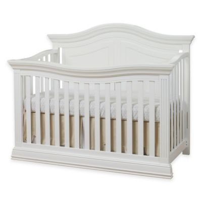 Sorelle Providence 4-in-1 Convertible Crib in White - buybuyBaby.com