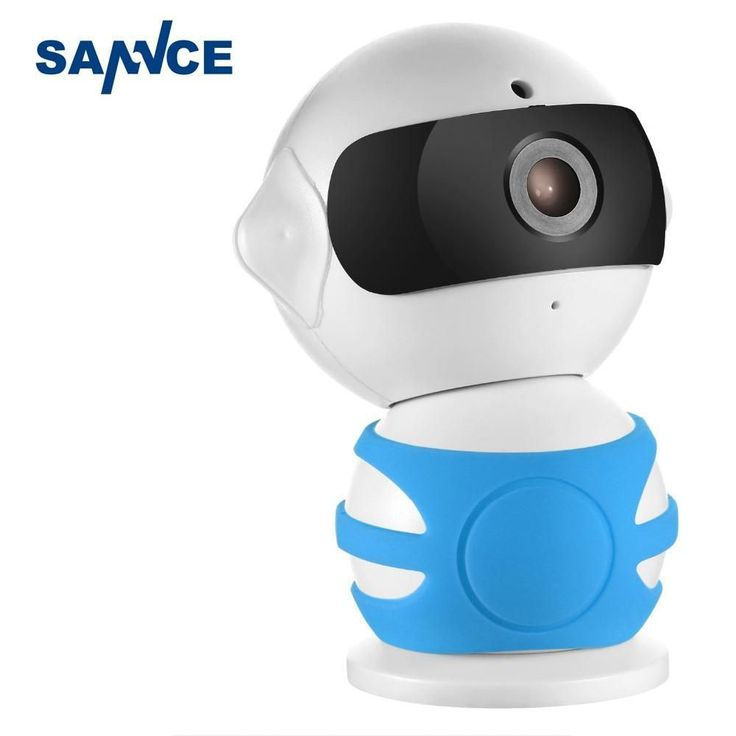 SANNCE Robot IP Camera 960P WiFi Wireless IP Camera CCTV Security Camera Two Way Audio Monitor Easy QR CODE Scan Connect