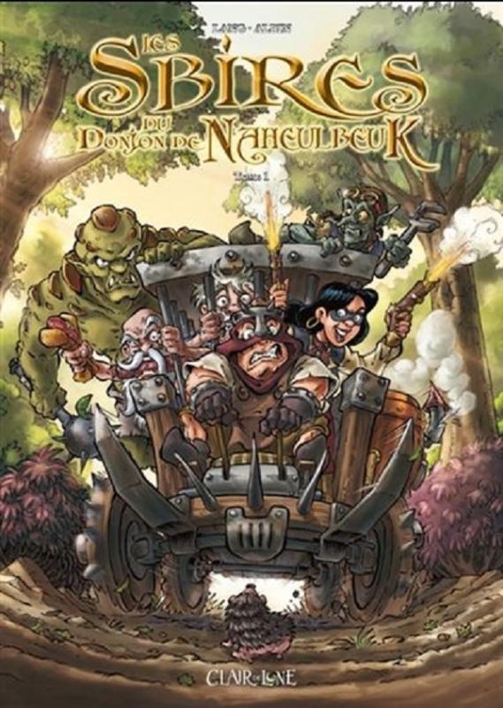 Les Sbires du Donjon de Naheulbeuk - (Guillaume Albin / John Lang) - Heroic Fantasy-Magie [TRIBULLES, une librairie du réseau Canal BD]