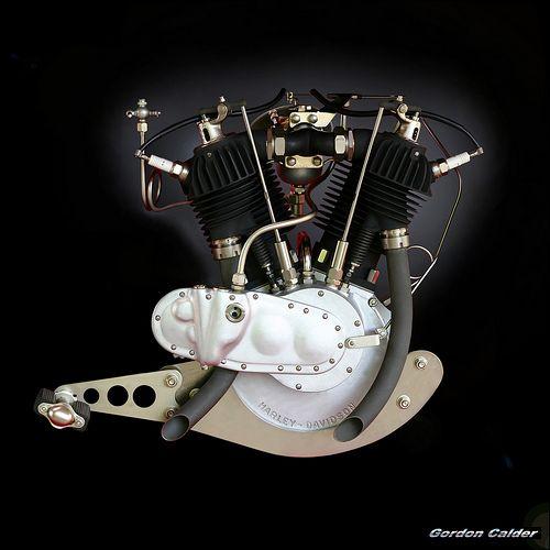 N0 21: VINTAGE HARLEY DAVIDSON 1920 T SERIES MOTORCYCLE ENGINE | Flickr - Photo Sharing!
