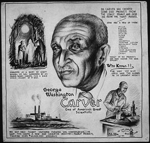 George Washington Carver - a forerunner of appropriate technolgy and numerous inventions from indigenous crops of the American South
