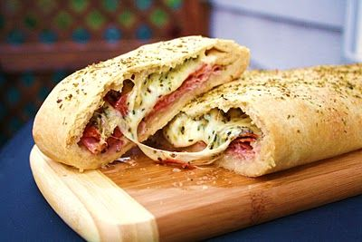 Burn Me Not: StromboliSandwiches, Breads Recipe, Food, Pizza, Stromboli Recipe, Yummy, Delicious, Favorite Recipe, Frozen Breads Dough