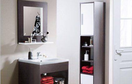 Les colonnes de salle de bain : des rangements gain de place