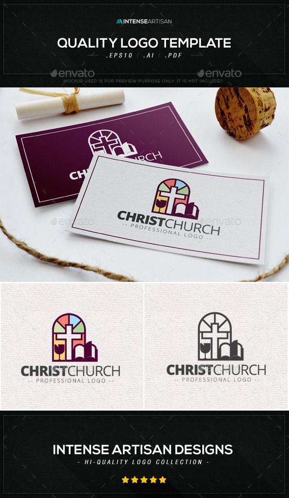 Christ Church Logo Template - Symbols Logo Templates