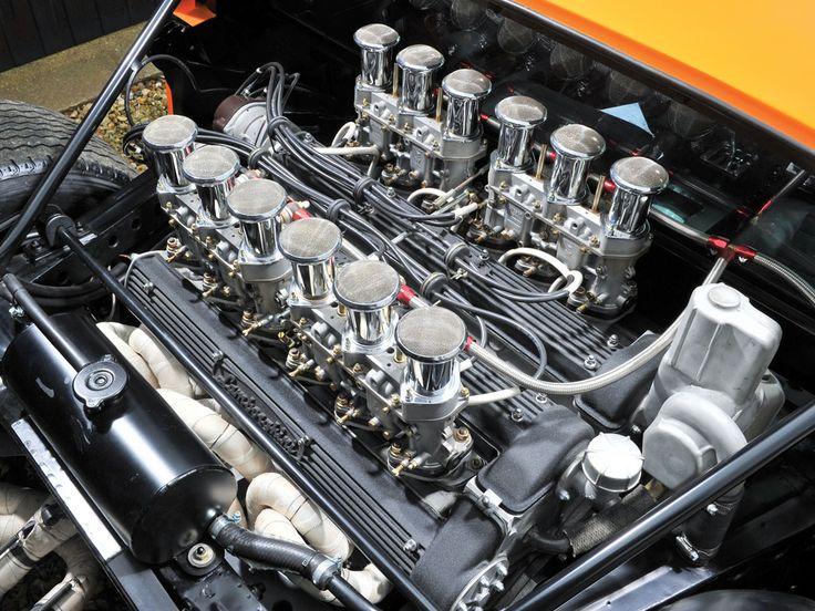 1969 Lamborghini Miura S 'Jota (V12 engine) http://www.wheelsofitaly.com/wiki/index.php?title=Lamborghini_Miura