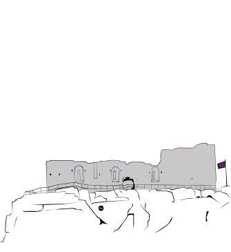 Avis sur château des baux de provence