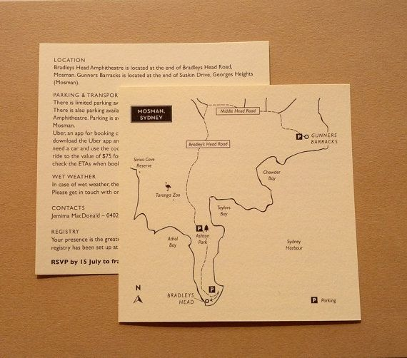 Wedding Information Cards Menus etc // Wedding by MapleTea on Etsy, £65.00