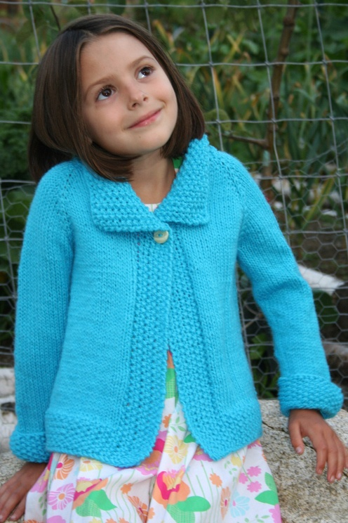 Amanda Lilley Designs--Amanda Lilley--Top Down Jacket (1 - 6 years)