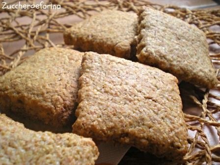 Biscotti integrali | zuccheroefarina
