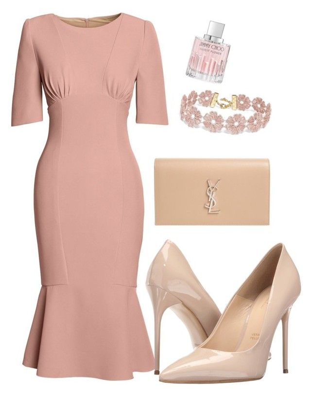 """""""Untitled #22"""" by cupkate17 on Polyvore featuring Canvas by Lands' End, Massimo Matteo, Yves Saint Laurent, BaubleBar and Jimmy Choo"""
