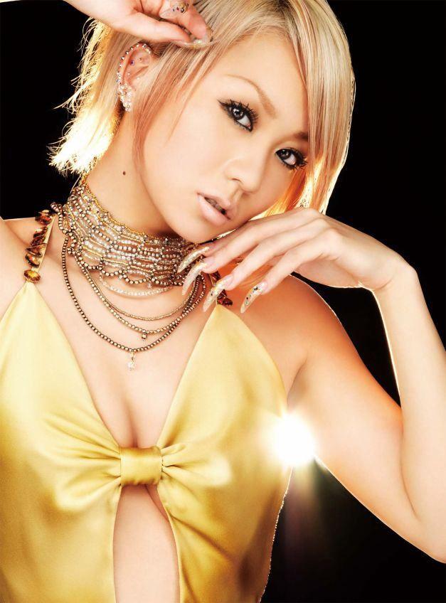 Beautiful Japanese singer Koda Kumi