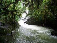 Waterfall in Costa Rica Rainforest Wallpaper Rivers Nature