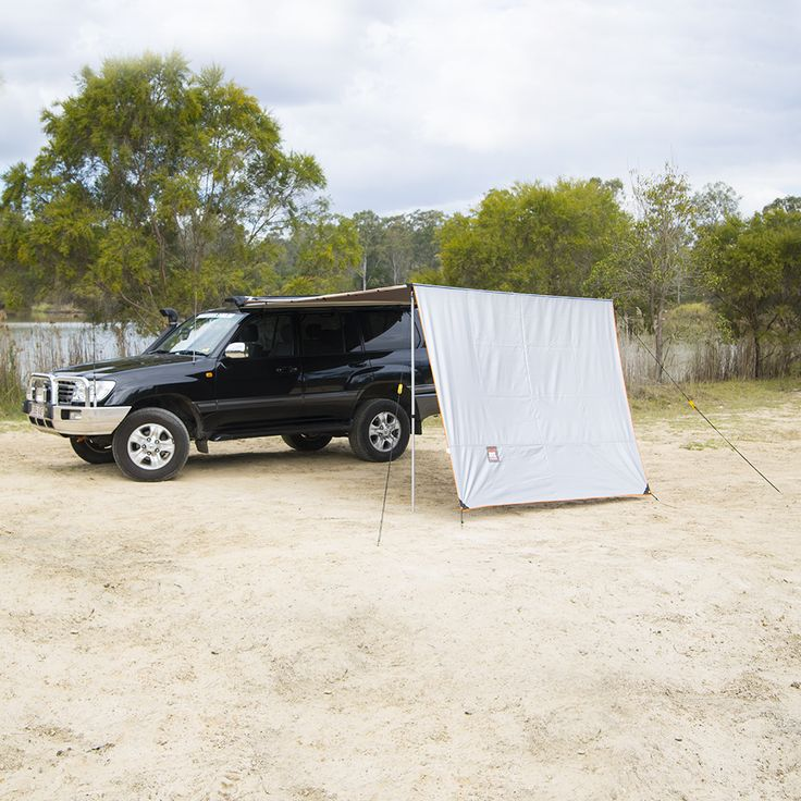 Tough Toys Offroad Accessories 4wd Side Awning Extension Wall