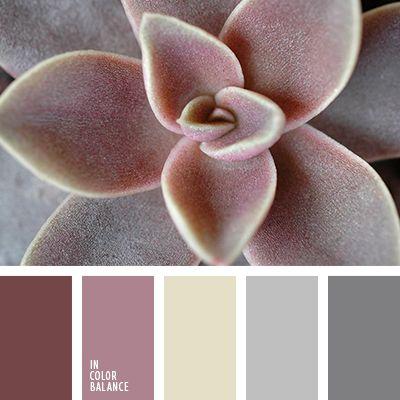 beige y gris, colores beige y lila, elección del color para hacer una reforma, gris claro, gris oscuro, gris y lila, matices del rosado oscuro, rosado grisáceo, rosado pálido, rosado y amarillo, selección de colores para el hogar, tonos lilas.
