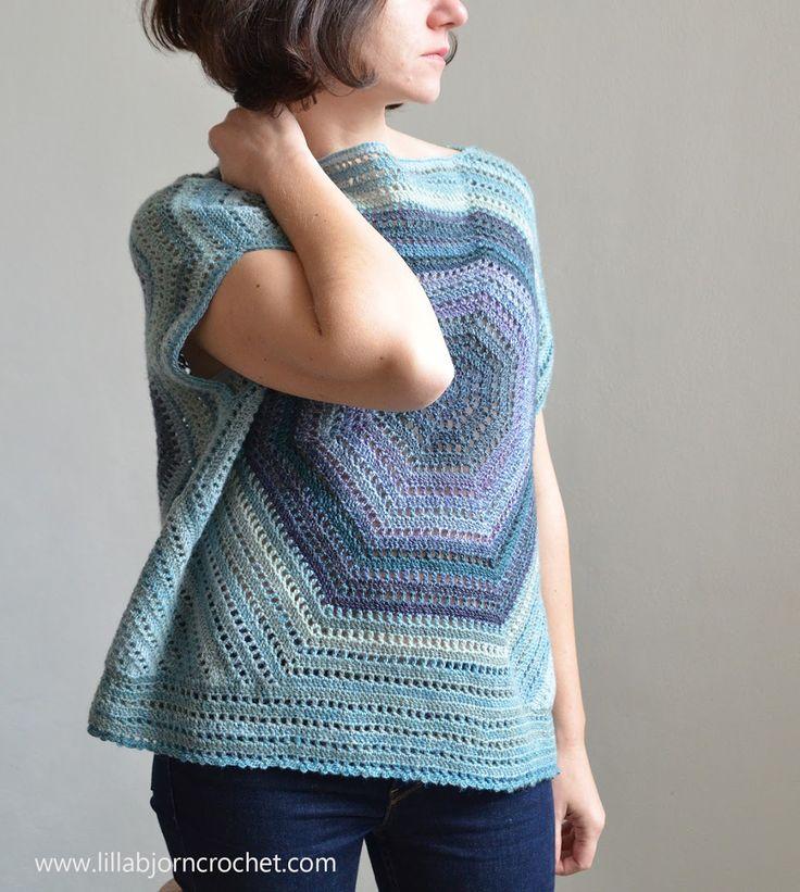 Lilla Bjorn Sweater - FREE crochet pattern by www.lillabjorncrochet.com