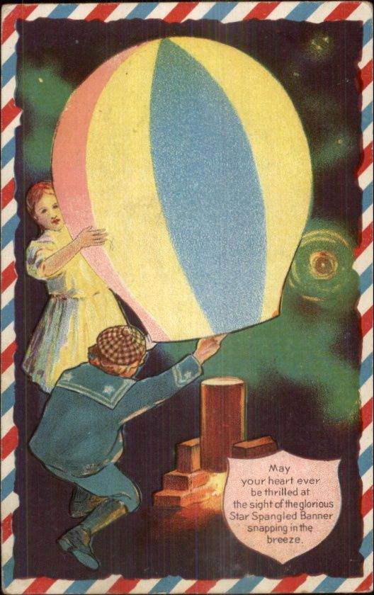 Children Light Colorful Balloon - 4th of July? c1910 Embossed Postcard FOR SALE • $12.69 • See Photos! Money Back Guarantee. BUY TEN ITEMS AND SHIPPING IS FREE! VINTAGE POSTCARD - CONDITION: VG-EXC *See Scans Below For Detailed Condition of Both Sides. DATE/ERA: 1900s-1920s. Standard Size 3.5x5.5. *Please Disregard Any Neon 332042199946