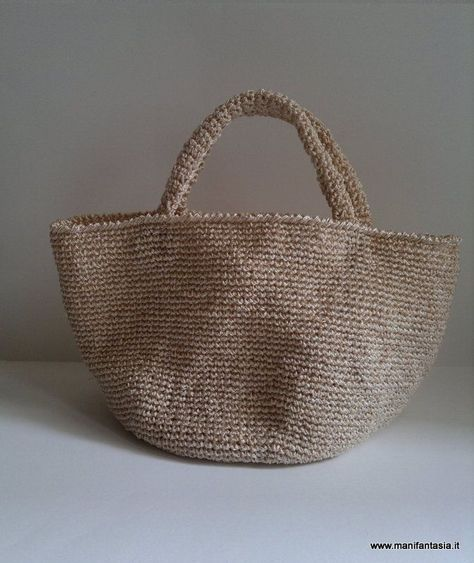 Tutorial Schema Borsa Uncinetto Estiva Bag Pinterest Crochet
