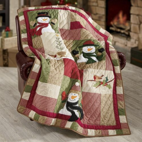 Sno Place Like Home Quilted Throw