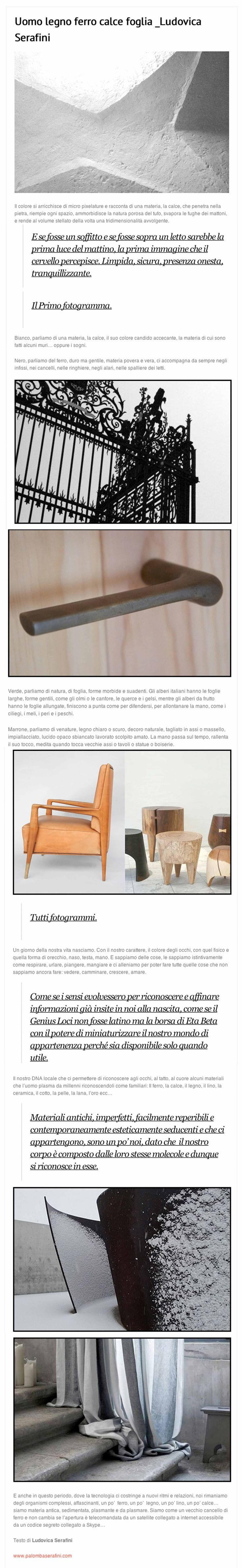 July 23rd 2013   Ludovica #Palomba @#blog for @casatrend+   http://www.casatrendmag.it/1450/ #design