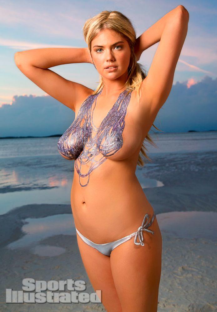 kate upton beautiful women body painting body art sports