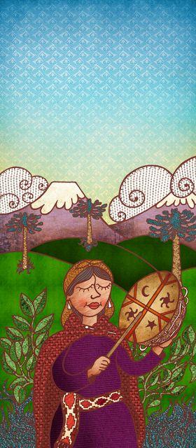 Pableras García, ilustraciones: We tripantu