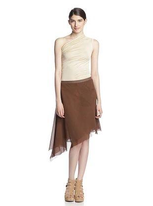 80% OFF Rick Owens Women's Asymertical Skirt (Resin)
