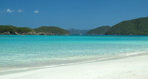 Cinnamon Bay, St. John. Who wants to go right now!
