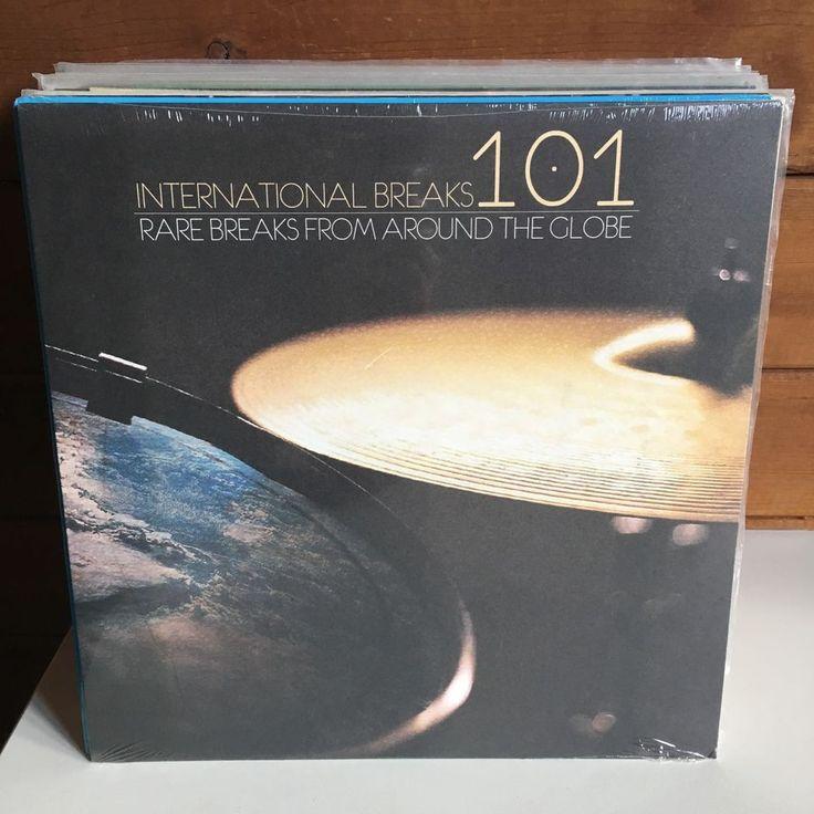 INTERNATIONAL BREAKS 101 LP 2013 FACTORY SEALED NEW DJ beats samples breaks #ElectroInstrumentalTurntablism