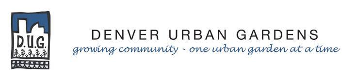 curriculum plans, including some winter ideas - Denver Urban Gardens