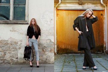 online fashion magazine 100% linen pants by HEEL Athens Lab