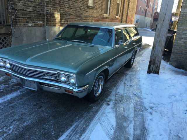 1966 Chevrolet Impala Station wagon for sale: photos, technical specifications…