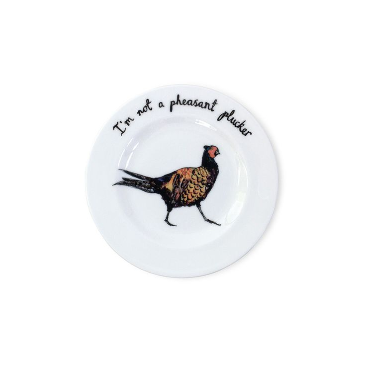 Discover the Katie Spragg Pheasant Plucker Plate at Amara