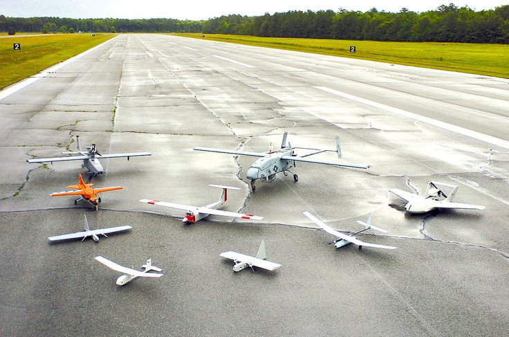 Group photo of aerial demonstrators at the 2005 Naval Unmanned Aerial Vehicle Air Demo - Unmanned aerial vehicle - Wikipedia, the free encyclopedia