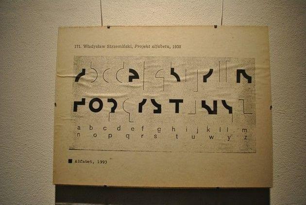 Władysław Strzemiński / Alfabet / 1930