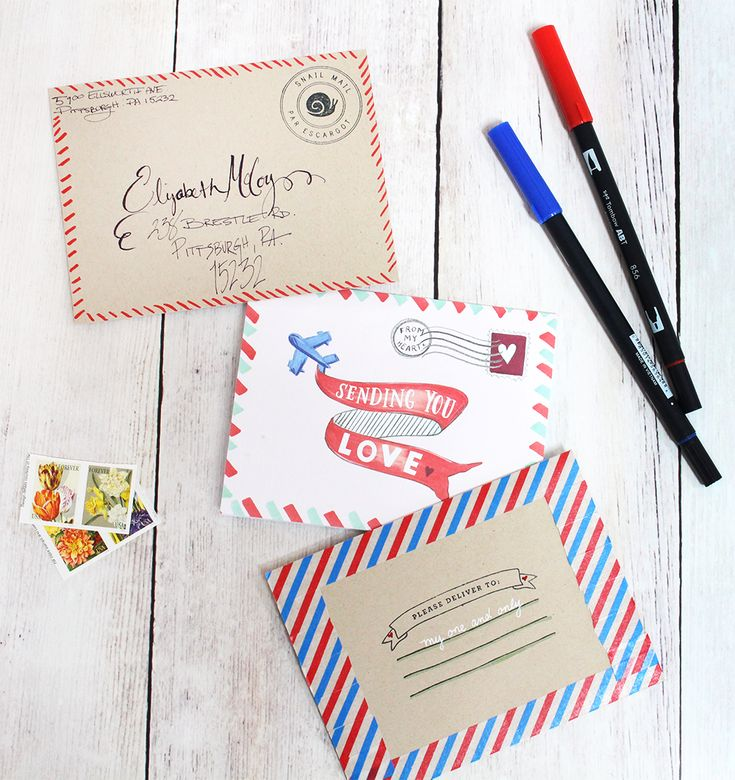 April Happy Mail u2013 National Letter Writing