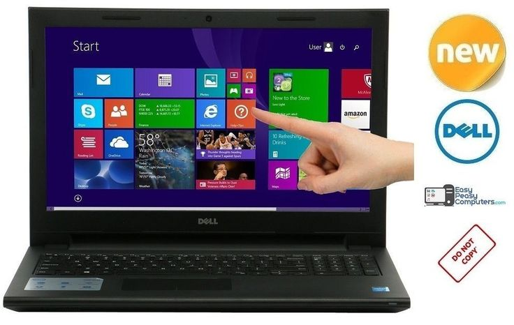 "BRAND NEW DELL Laptop Windows 10 15.6"" Touch Screen HDMI Webcam (FULLY LOADED) #Dell #laptop #laptops"