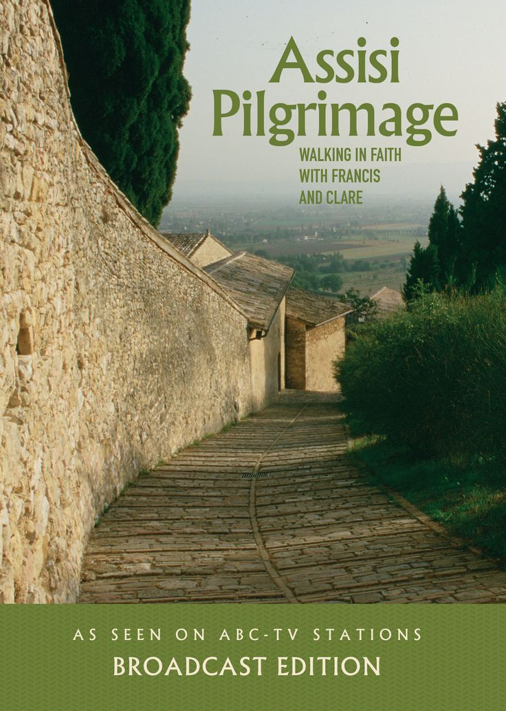 """This one-hour broadcast edition of Assisi Pilgrimage, as seen on ABC-TV, makes the unique experience of a pilgrimage to the Franciscan holy places of Assisi accessible to anyone, even """"armchair pilgri"""