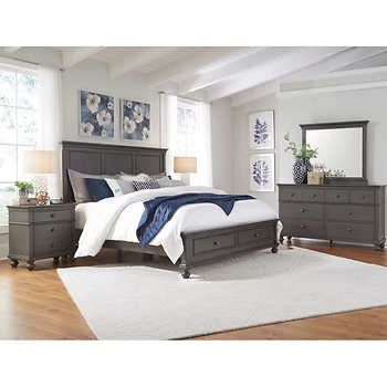 corona 5pc cal king storage bedroom set master bedroom pinterest rh pinterest com
