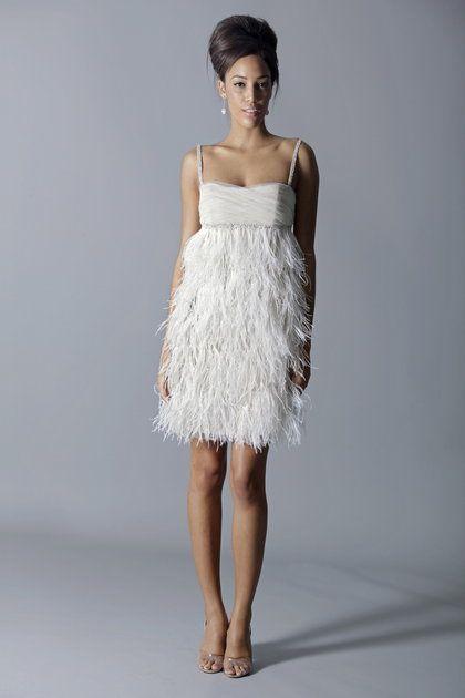 Magnificent Short Silk Wedding Dresses Crest - Wedding Dresses and ...